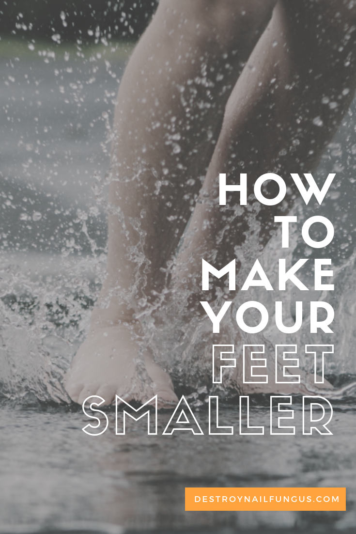 how to make your feet smaller