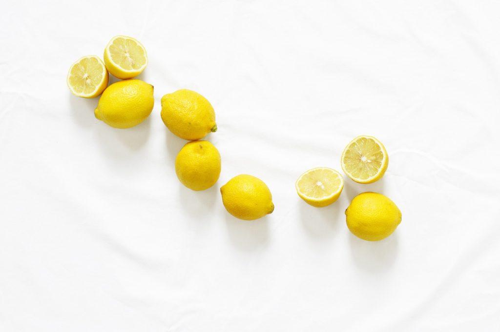 using a lemon soak for foot fungus