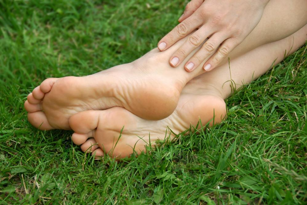 natural home pedicure
