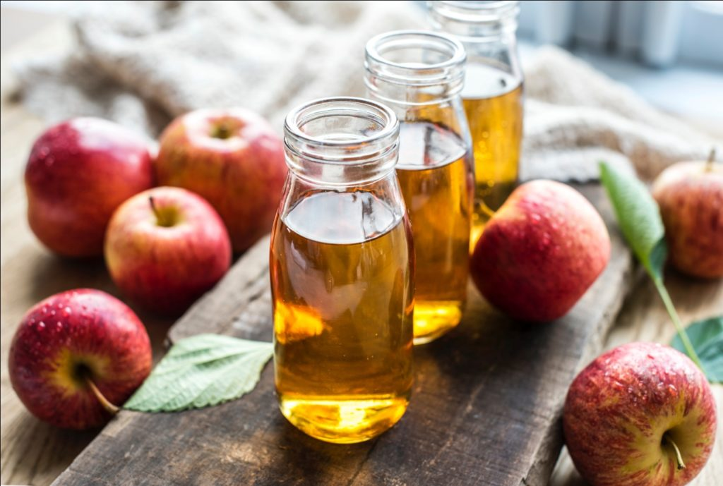 apple cider foot soak for blisters
