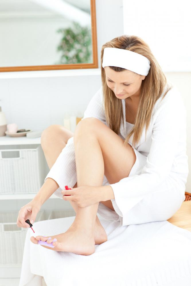 give yourself a pedicure at home professional