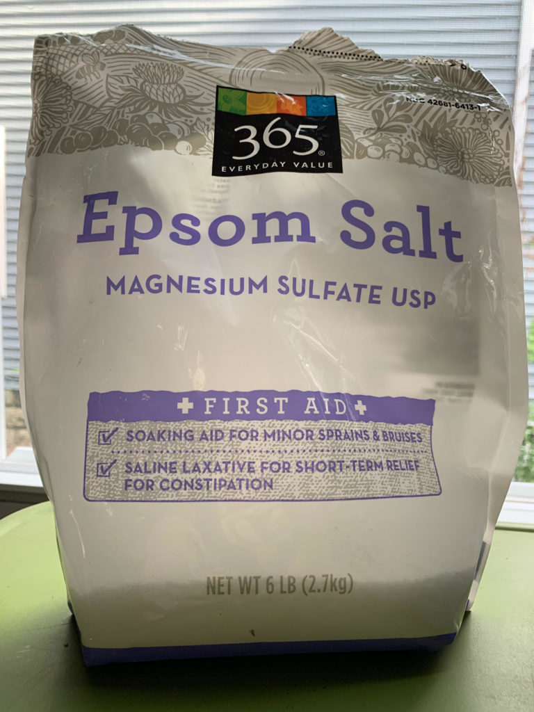 epsom salt foot soak recipe for sore feet