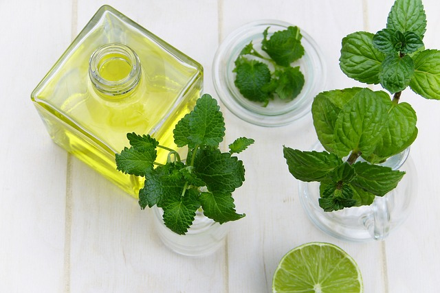 how to make a natural pain relief balm using mint