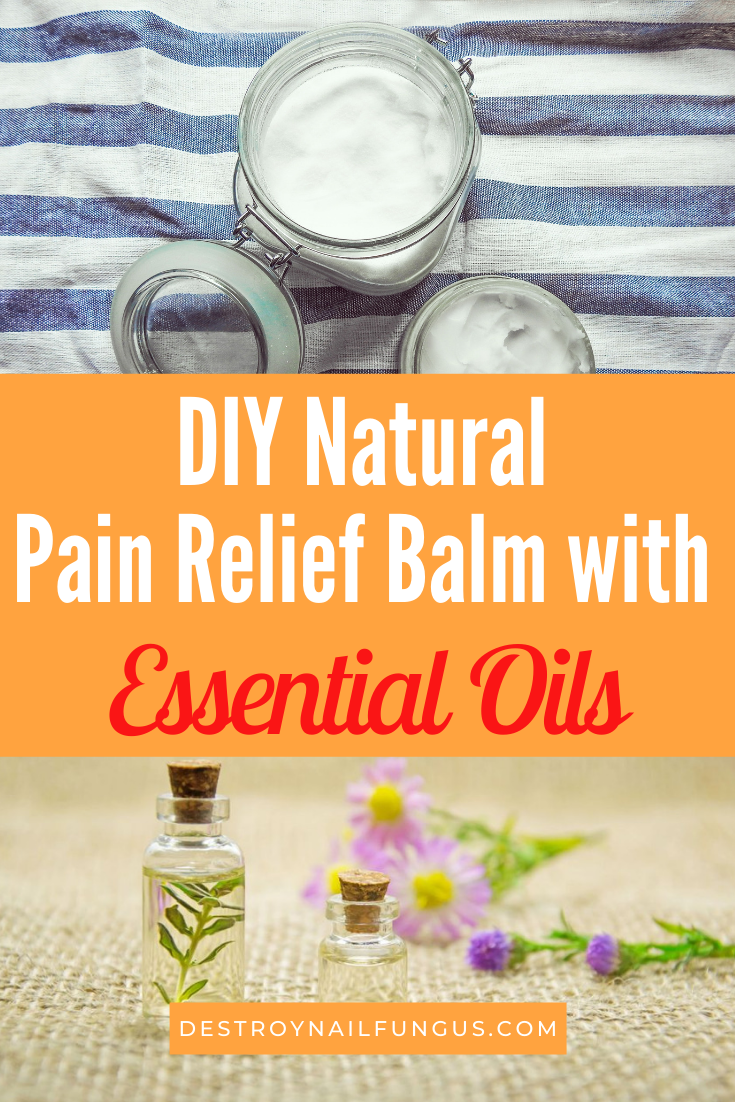 how to make a natural pain relief balm