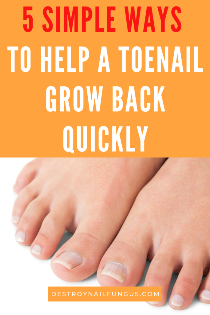 big toenail won't grow