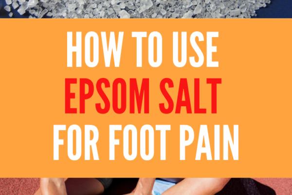 epsom salt for foot pain