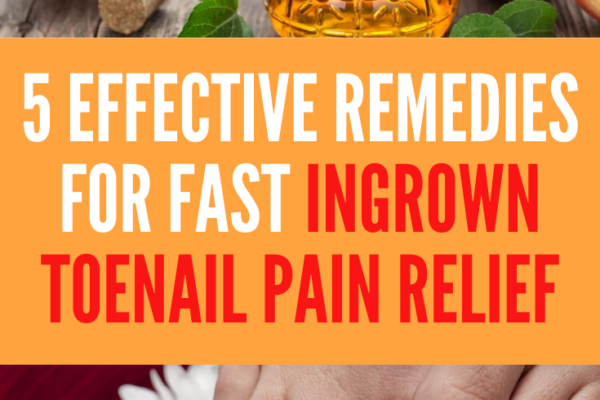 ingrown toenail pain relief fast