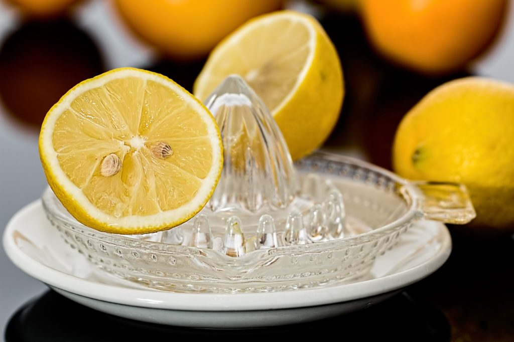 use lemon juice for horizontal ridges on toenails