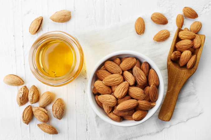almond oil to tighten skin
