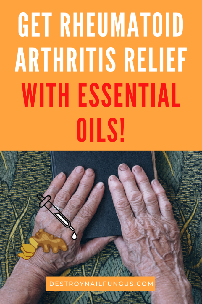 rheumatoid arthritis treatment with essential oils