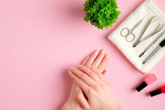 how to disinfect nail tools at home