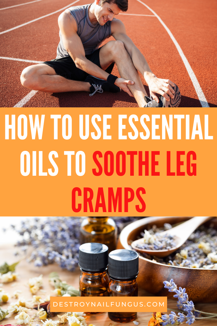 leg cramp essential oil blend