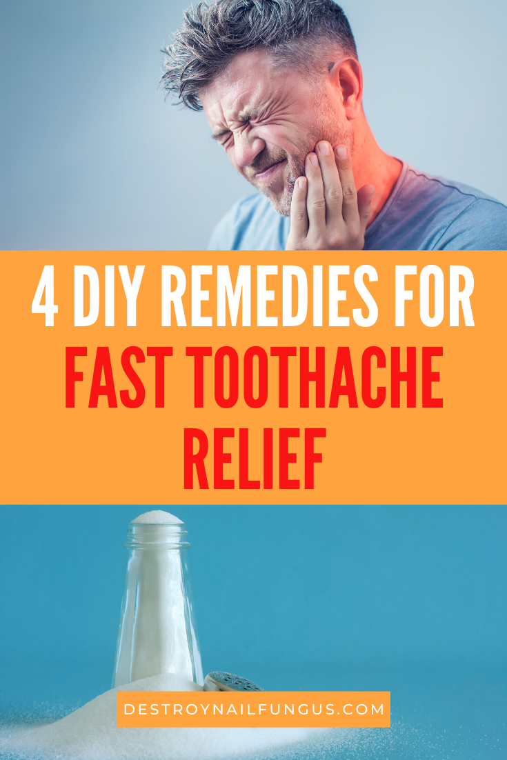 tooth ache relief fast diy