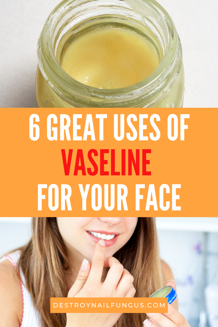 vaseline uses for face