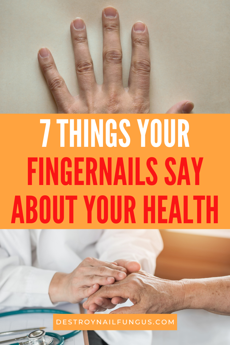 fingernail health signs
