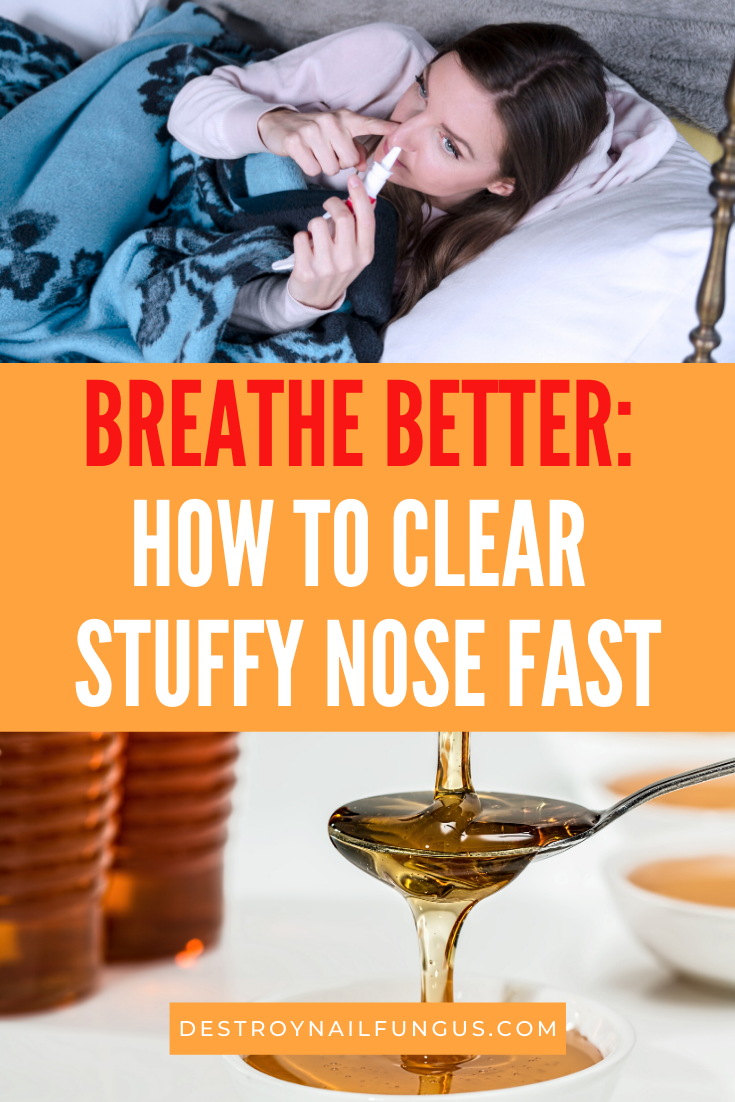 stuffy nose remedy fast